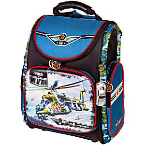 Школьный рюкзак – ранец HummingBird Airforce K85 с мешком для обуви