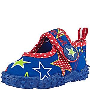Пляжные тапочки для купания в море Playshoes Звезды